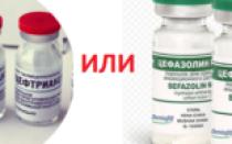 Что лучше цефазолин или цефтриаксон при пневмонии
